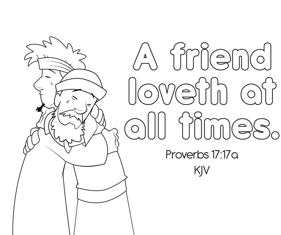 coloring pages proverbs - photo#7