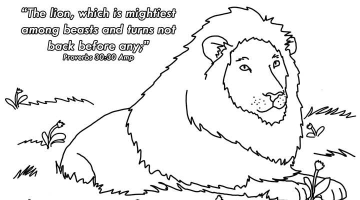 coloring pages proverbs - photo#24