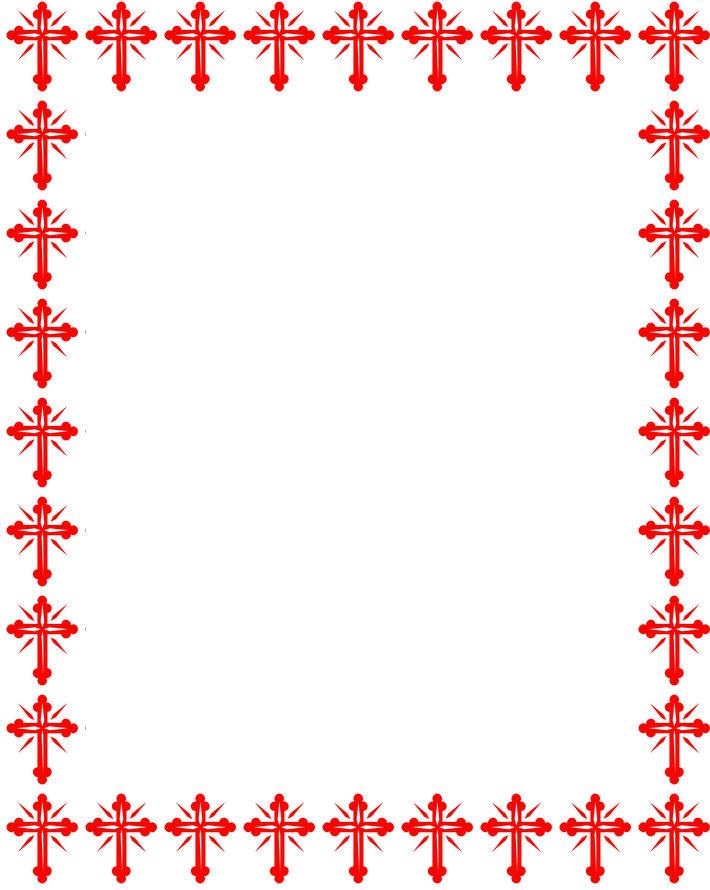 Religious Border Clip Art