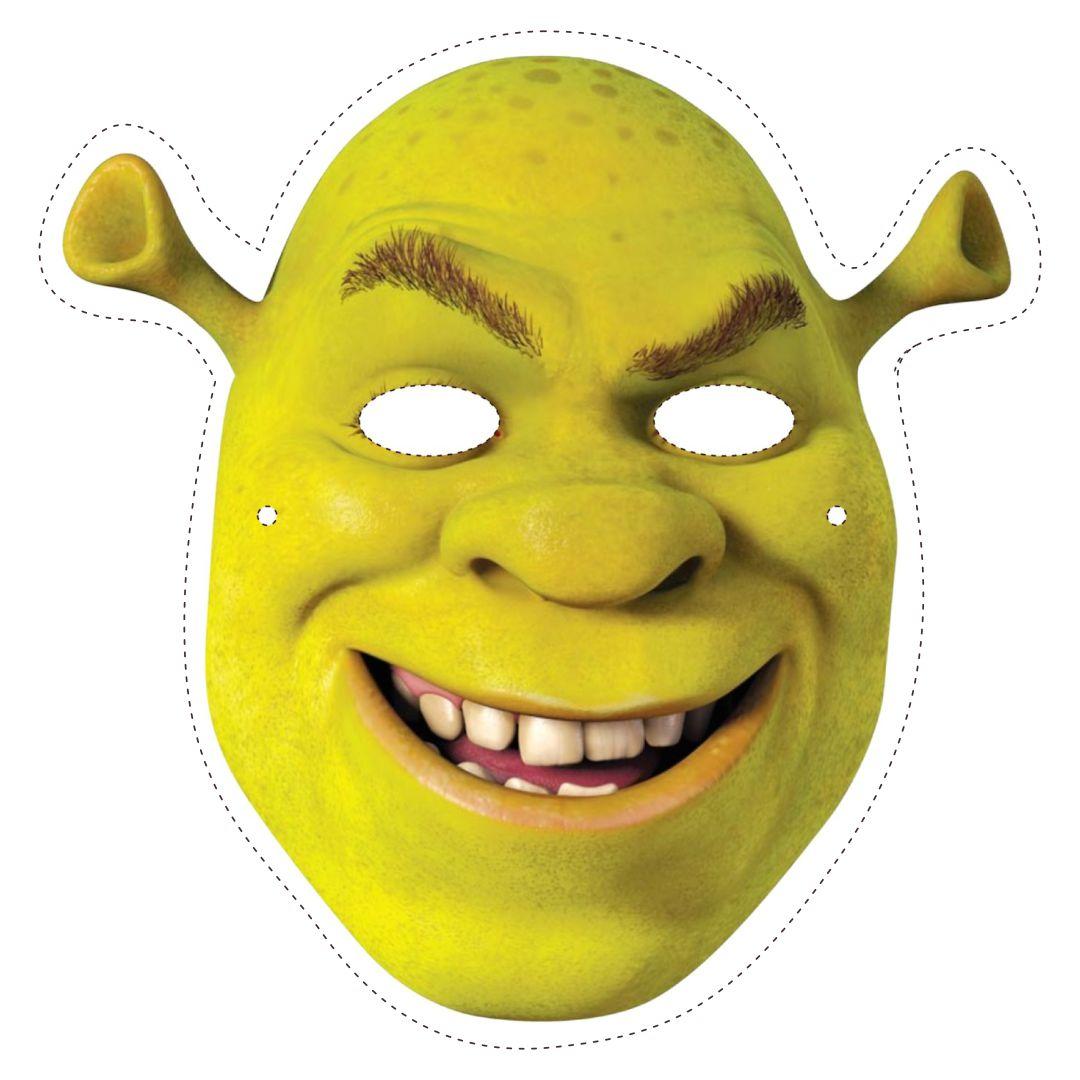 Shrek Printable Mask