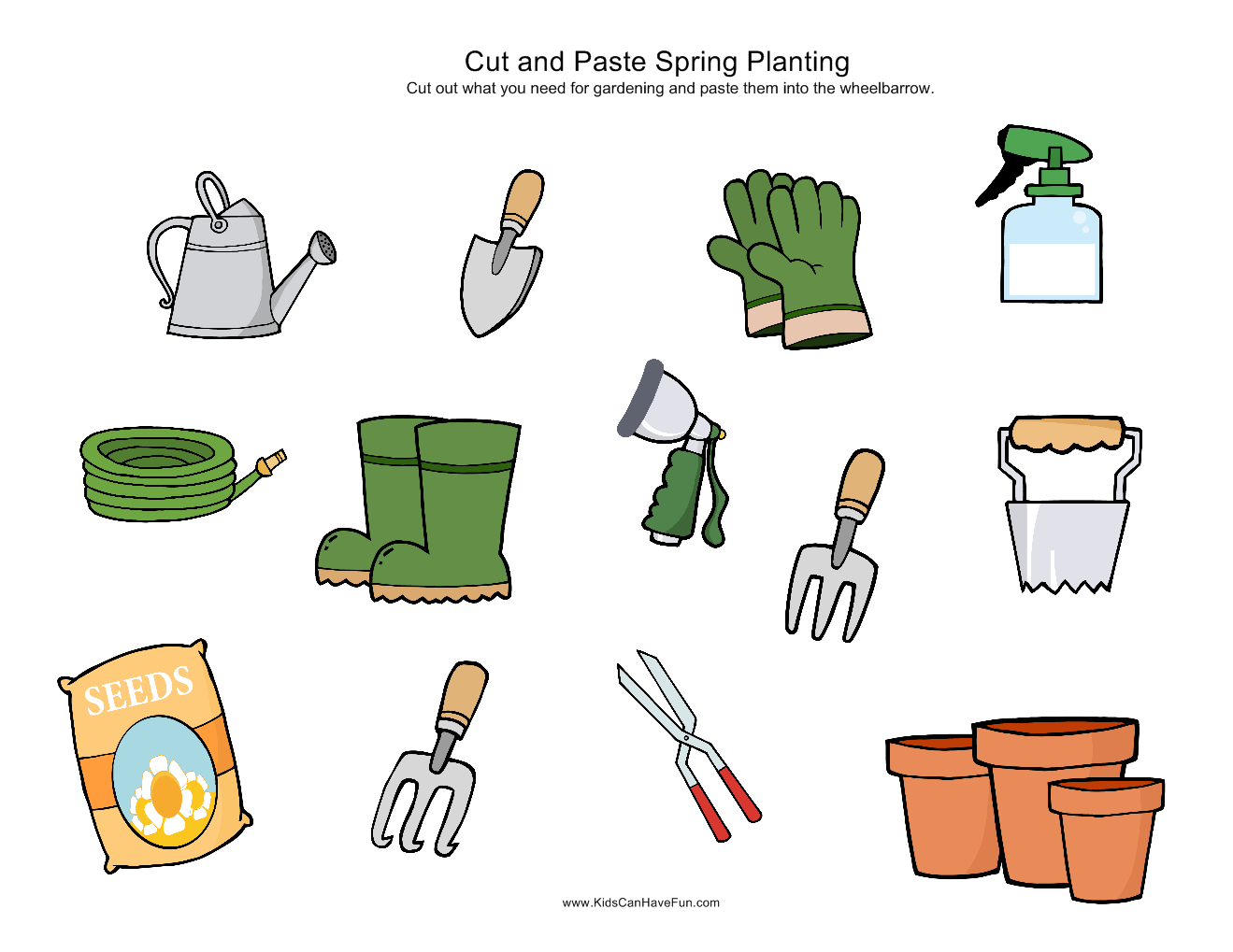 6 Best Images of Gardening Worksheets Printables - Free Printable ...