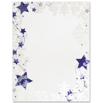 4 Images of Free Printable Winter Stationary Borders