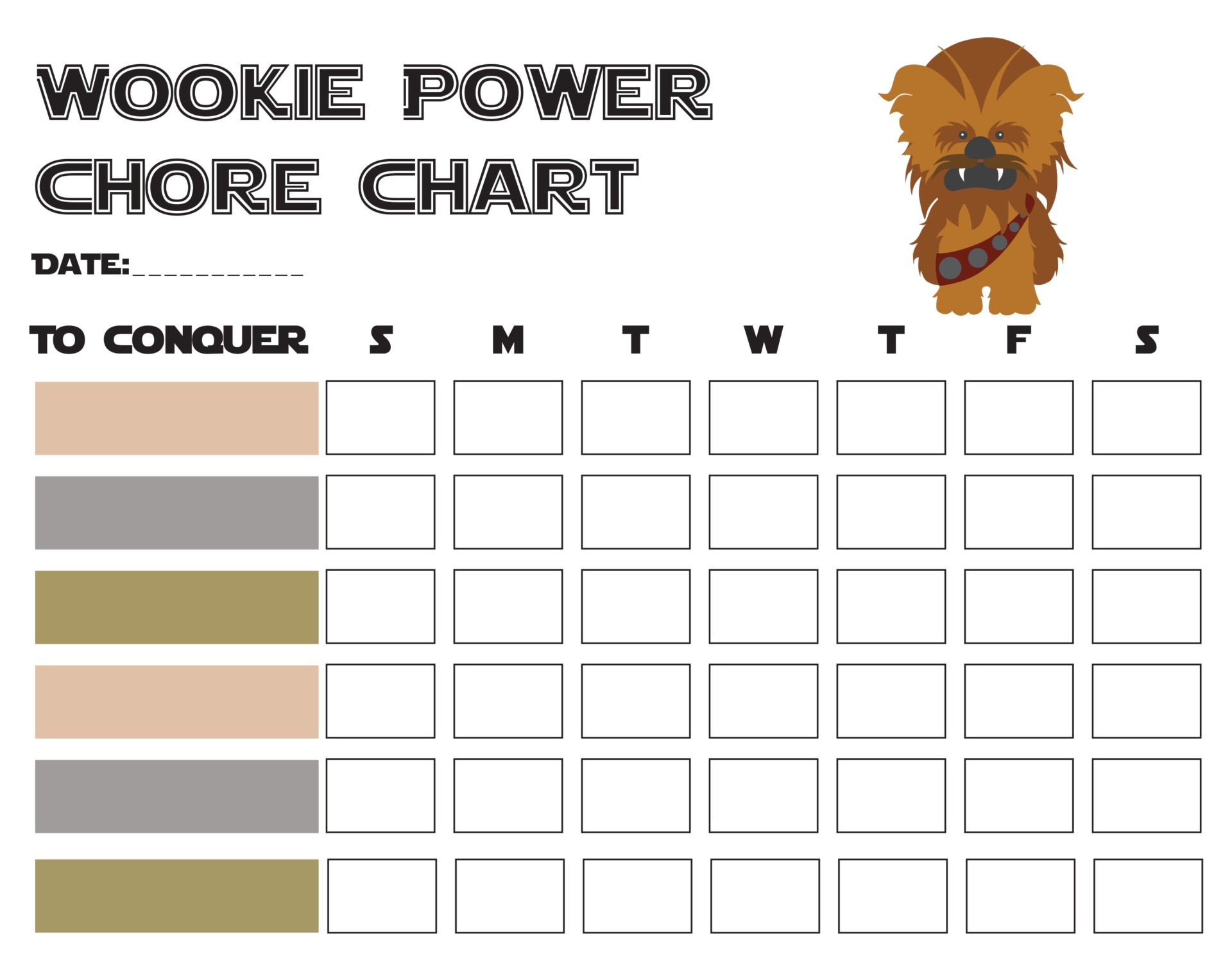 9 Images of Weekly Chore Printable Reward Chart