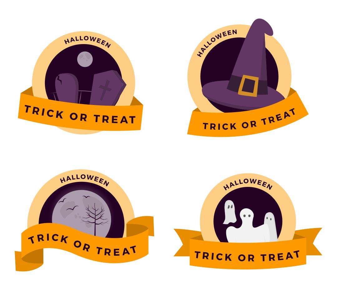 Vintage Halloween Signs Printable