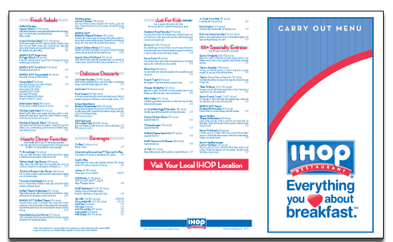 7 Images of Ihop Printable Menu With Prices 2015