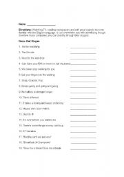 worksheets advertising slogans worksheet justptctrusted worksheets