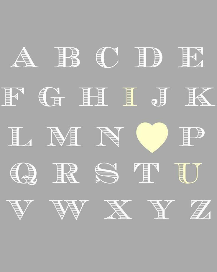 4 Images of Free Printable ABC Nursery