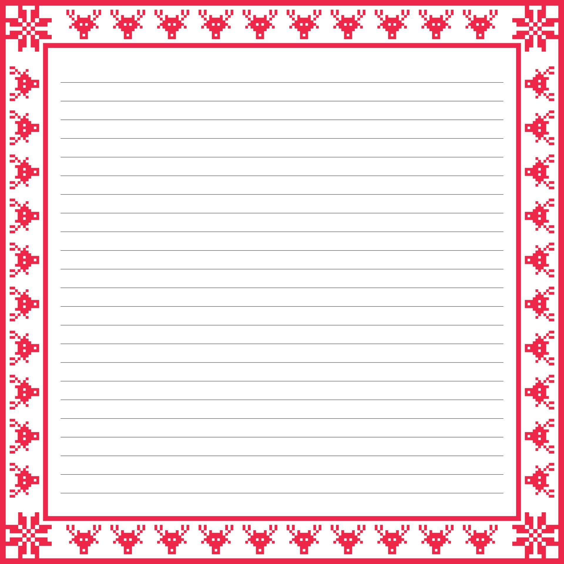 christmas lined writing paper  u00bb help writing college essays