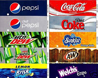 6 Images of Coke Machine Labels Printable