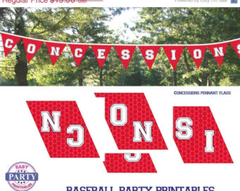 7 Images of Baseball Concession Signs Free Printable