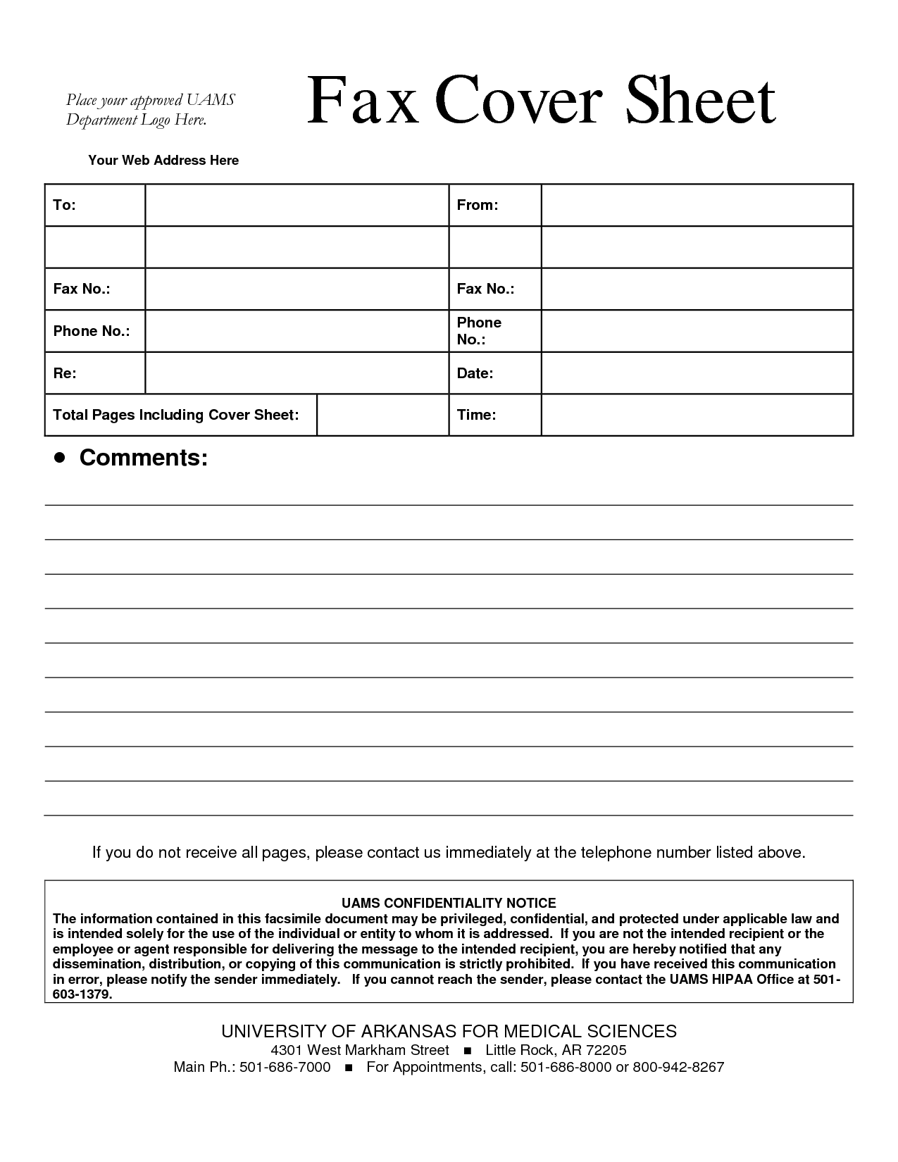 fax cover sheet format 6 fax cover sheet word template itinerary – Fax Cover Word