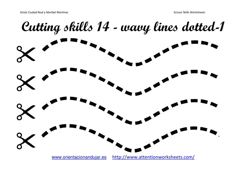 9 Images of Cutting Skills Printables