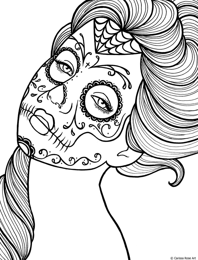7 Images of Free Printable Adult Coloring Book Pages