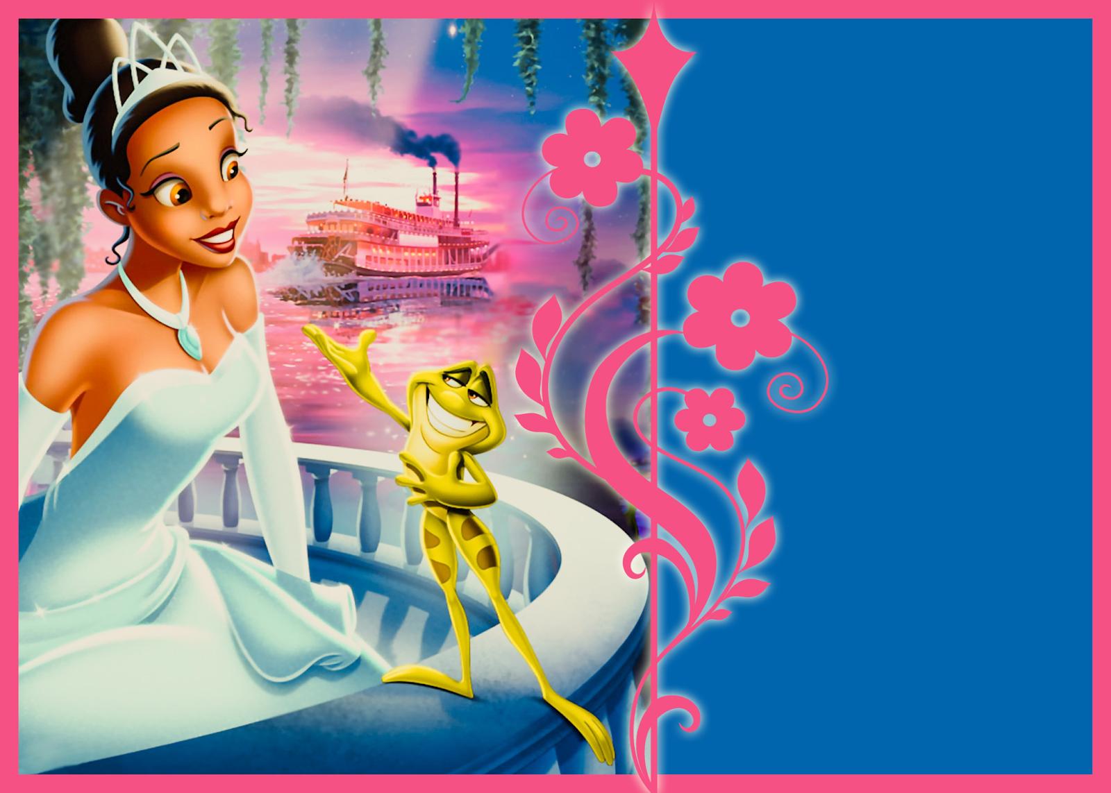 10 best images of free printable princess invitation - Images princesse ...