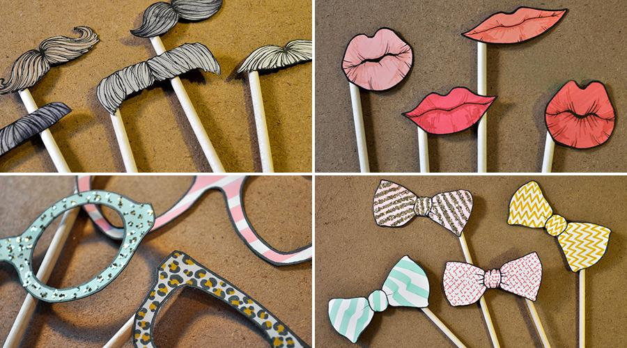 DIY Photo Booth Prop Ideas