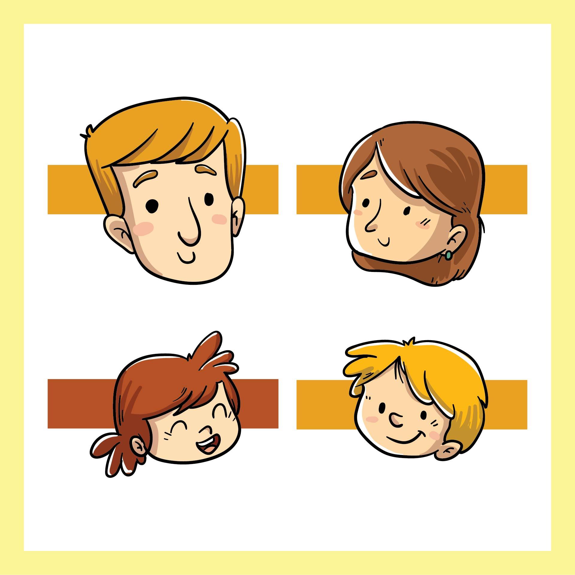 Family Finger Puppet Patterns