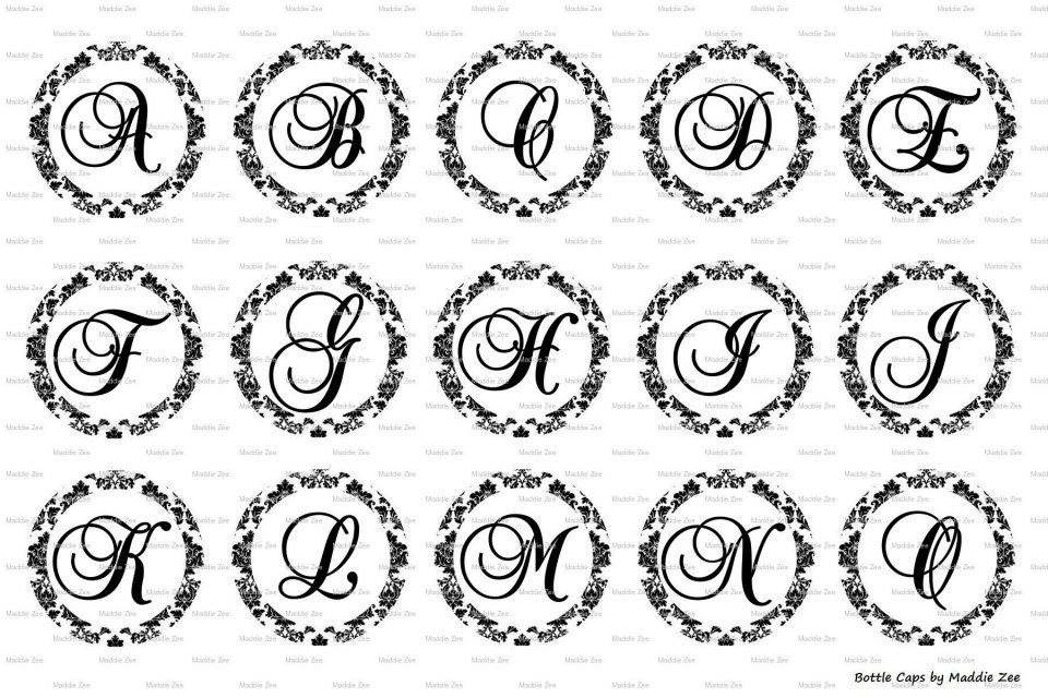 9 best images of fancy printable letter templates free for Fancy alphabet letter templates