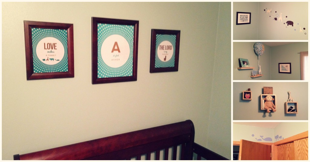 5 Images of Boy Nursery Printables