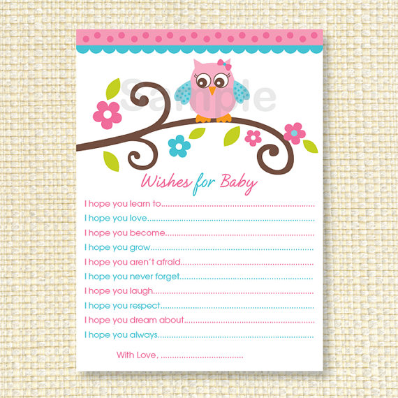 4 best images of printable wishes for new baby printable for Wishes for baby printable template