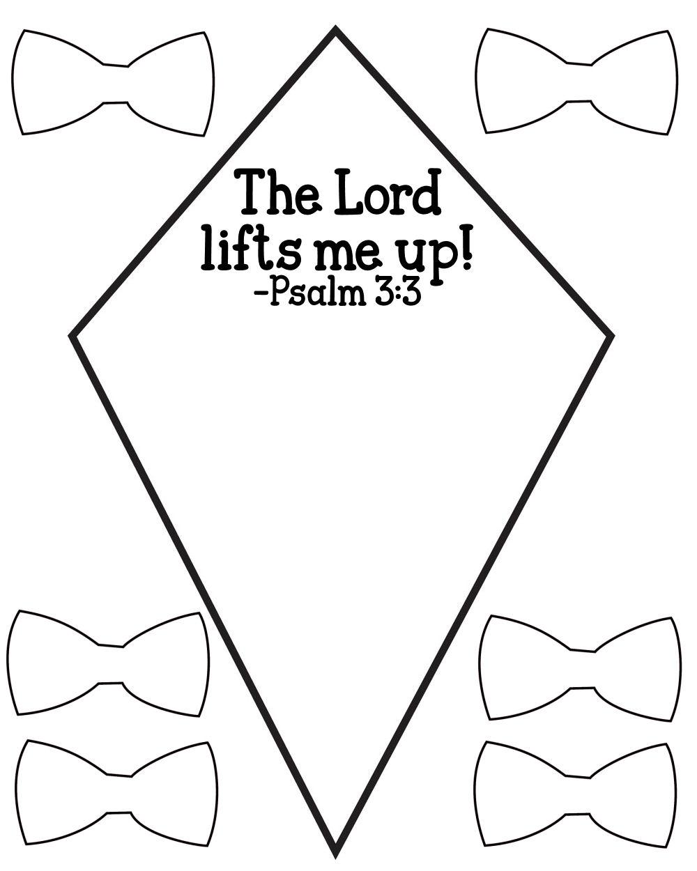5 Images of Printable Preschool Bible Crafts