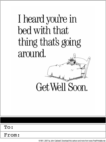 7 Images of Get Well Soon Template Printable Spanish