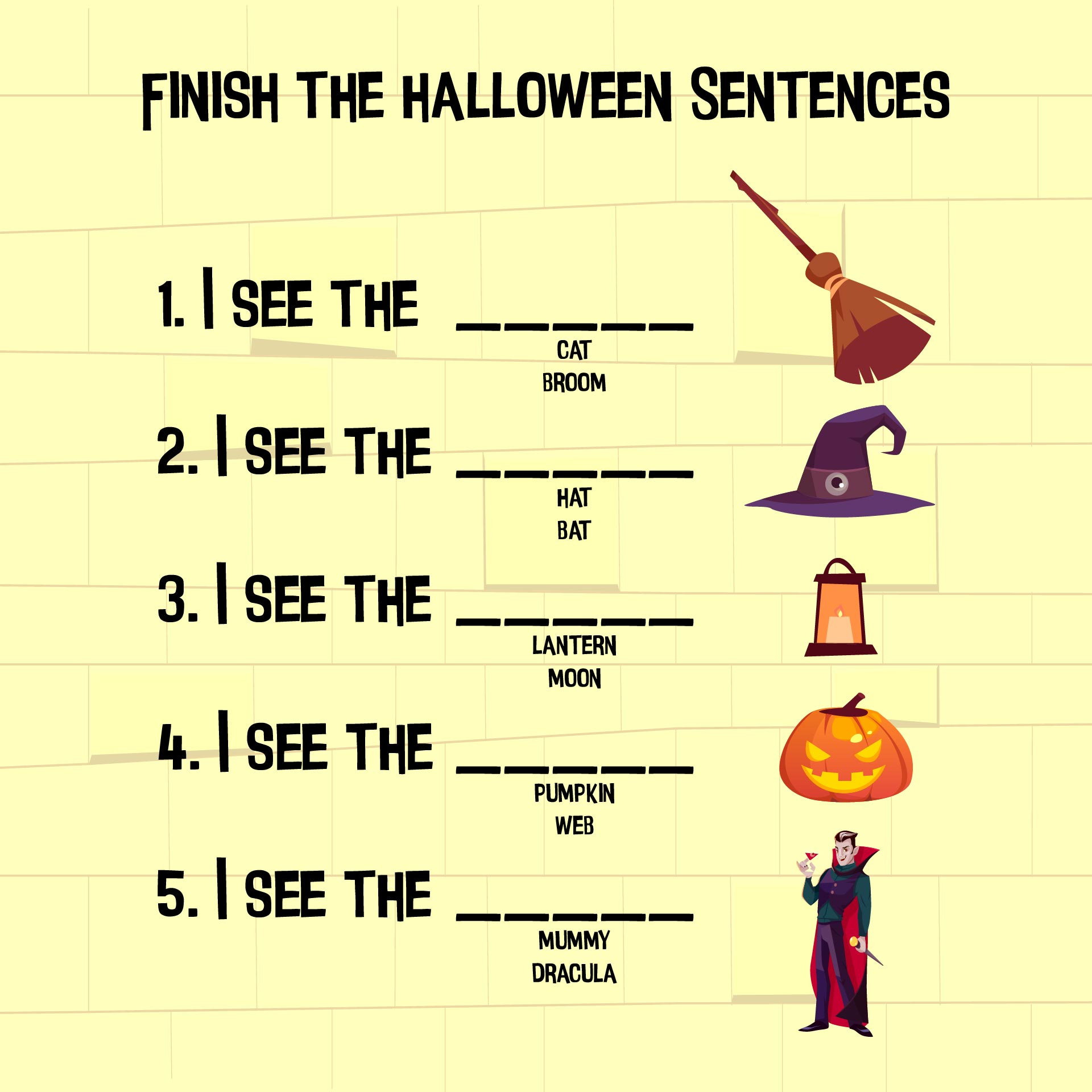 6 Images of Free Halloween Printable Activity Worksheets