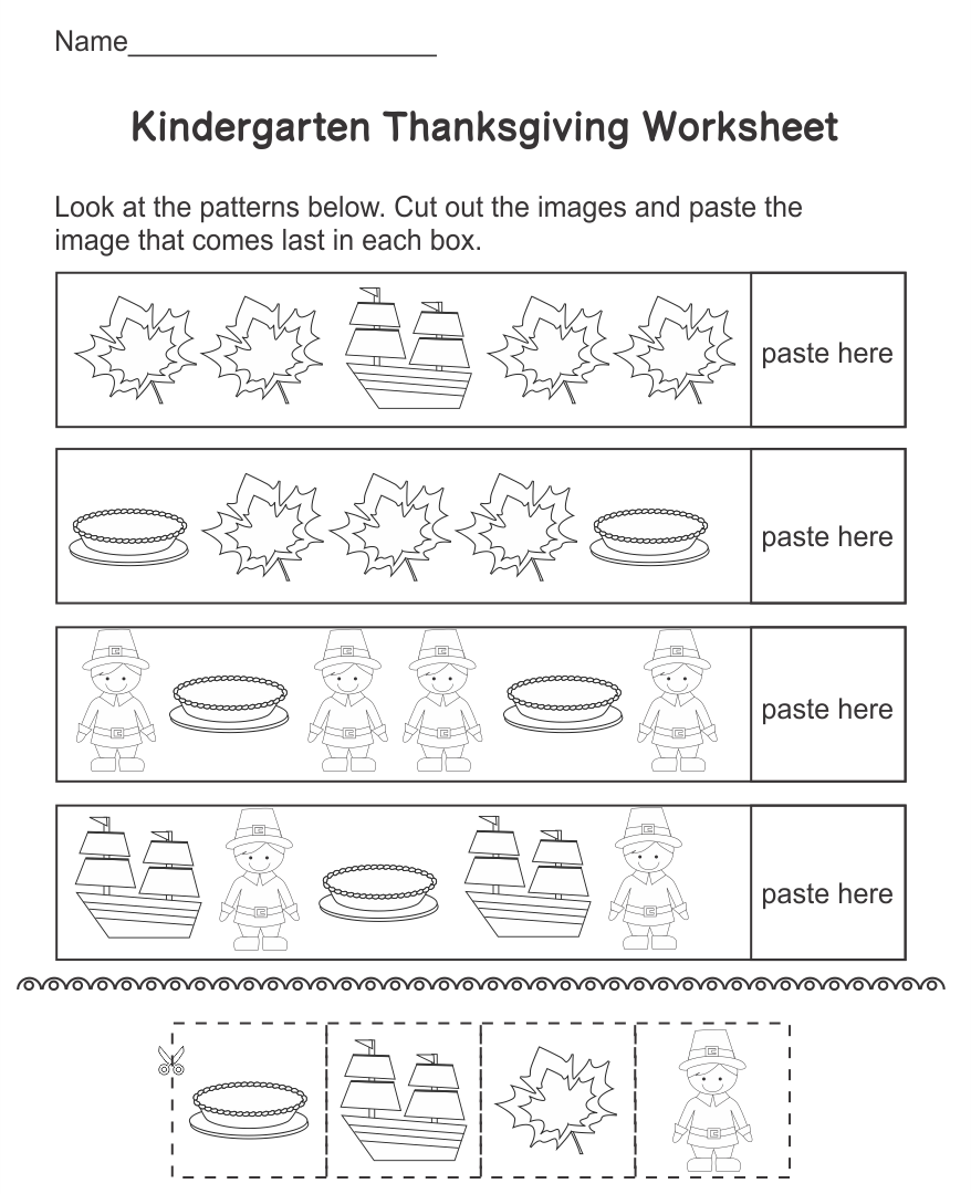 8 Images of Printable Thanksgiving Turkey Worksheets