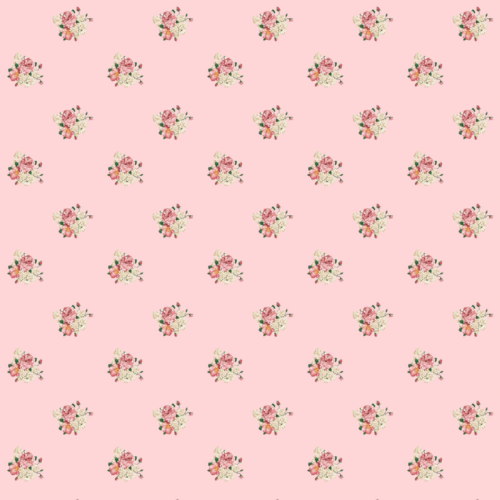 4 Images of Free Printable Flower Scrapbook Paper
