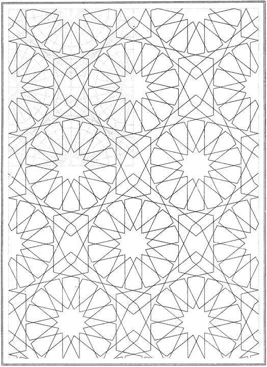 Geometric Shapes Printable Coloring Pages Adult