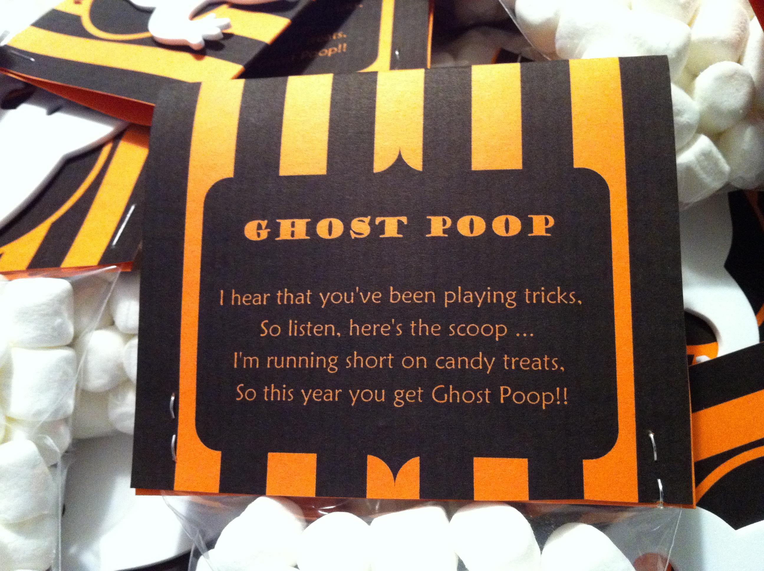 Printable Ghost Poop Poem | just b.CAUSE