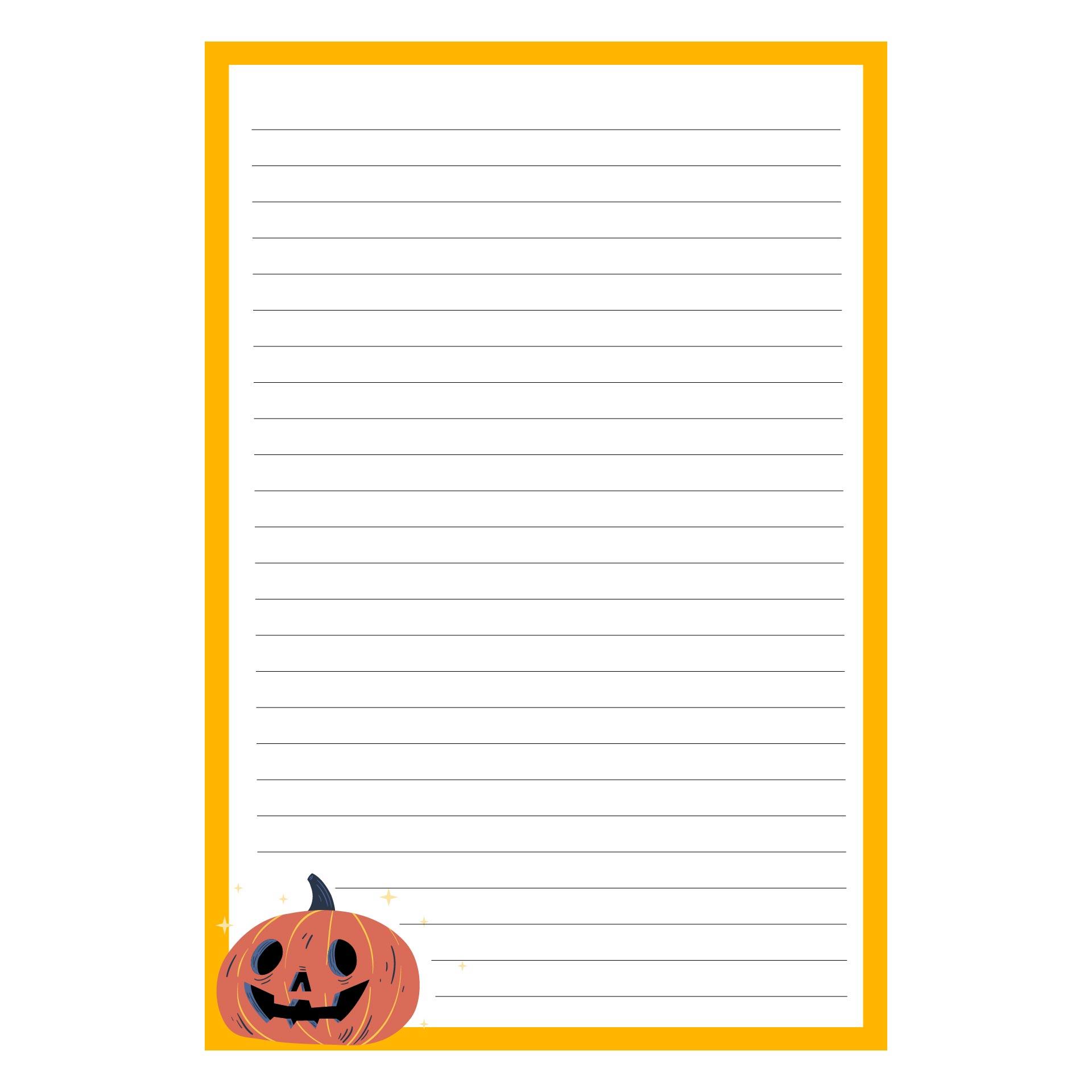 Halloween Border Paper Printable