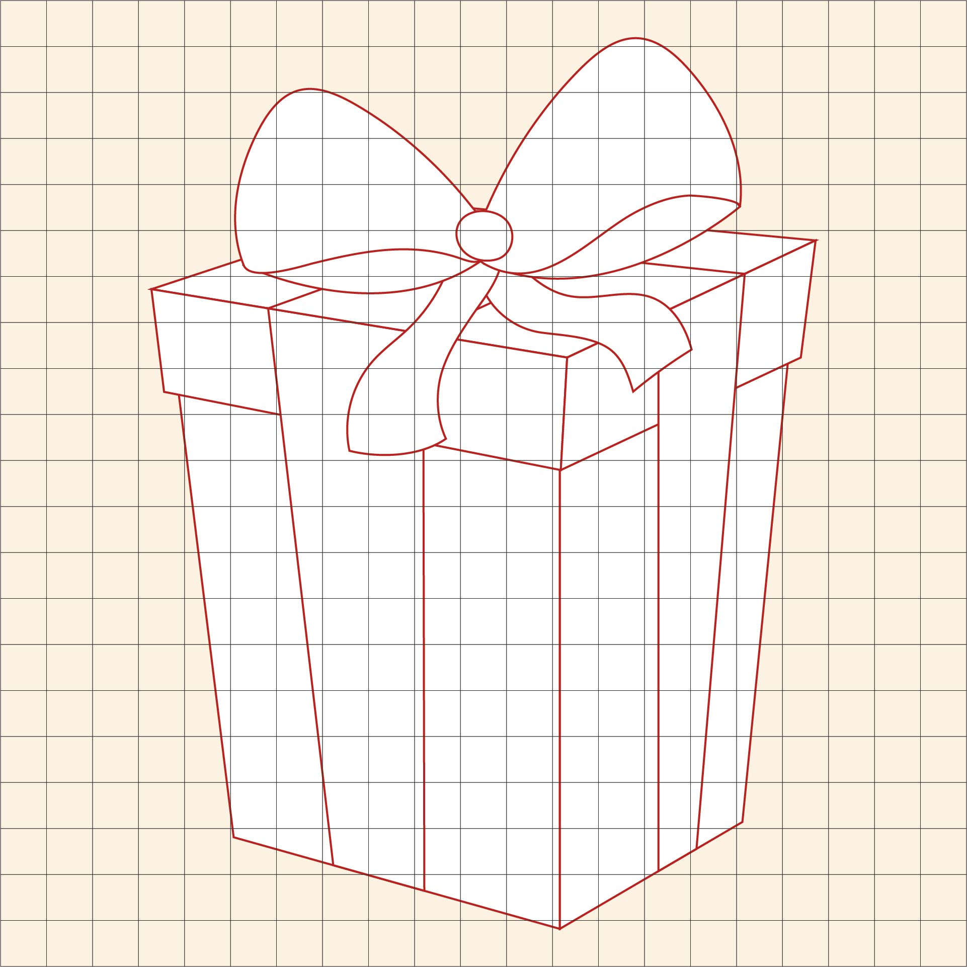 Holiday Graph Art Mystery Pictures Printables Christmas