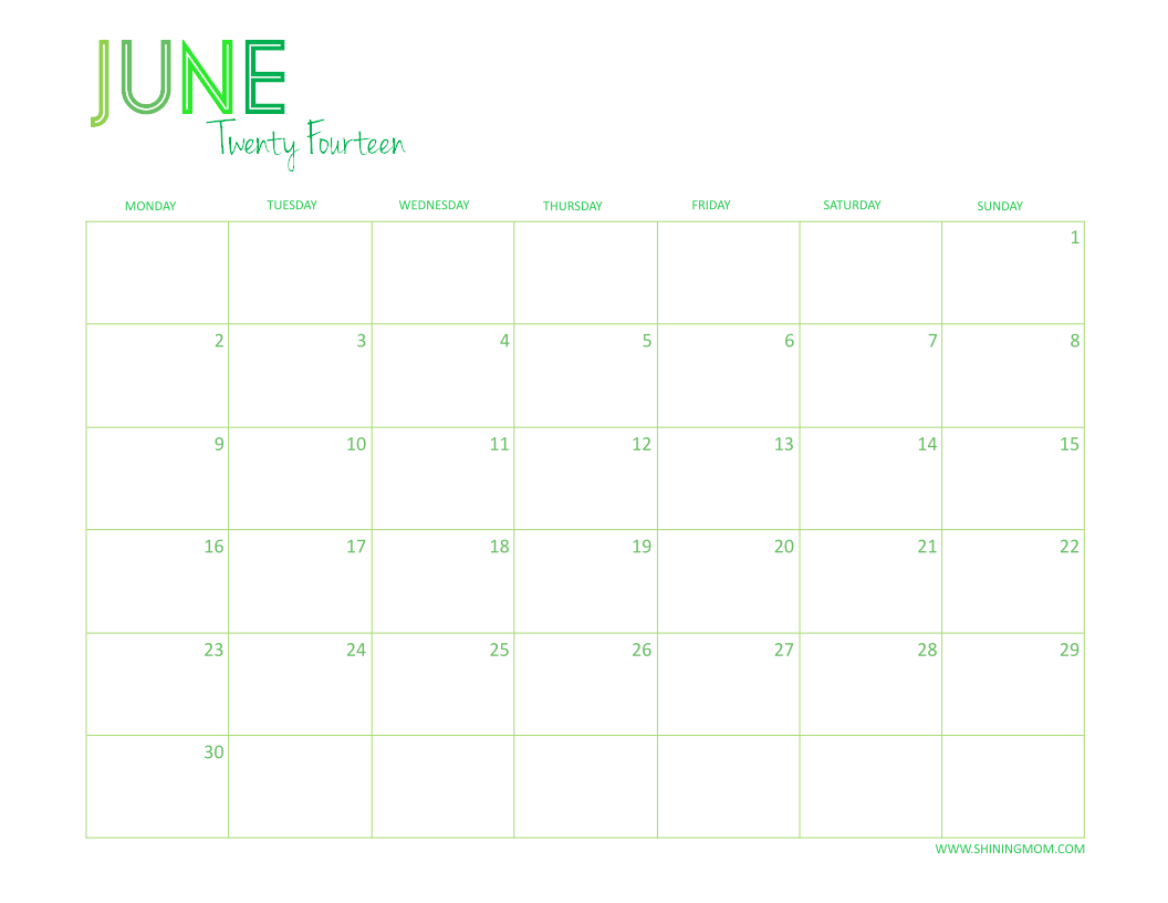 "Calendar June 2013 : Search results for ""printable calendar june"