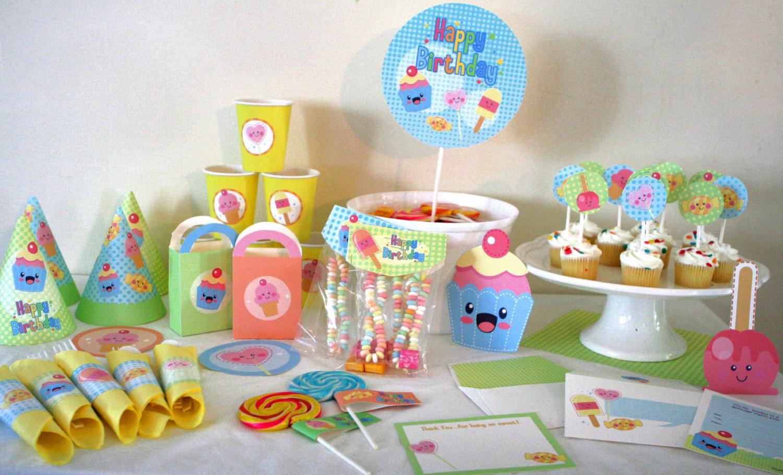Kawaii Birthday Party Supplies