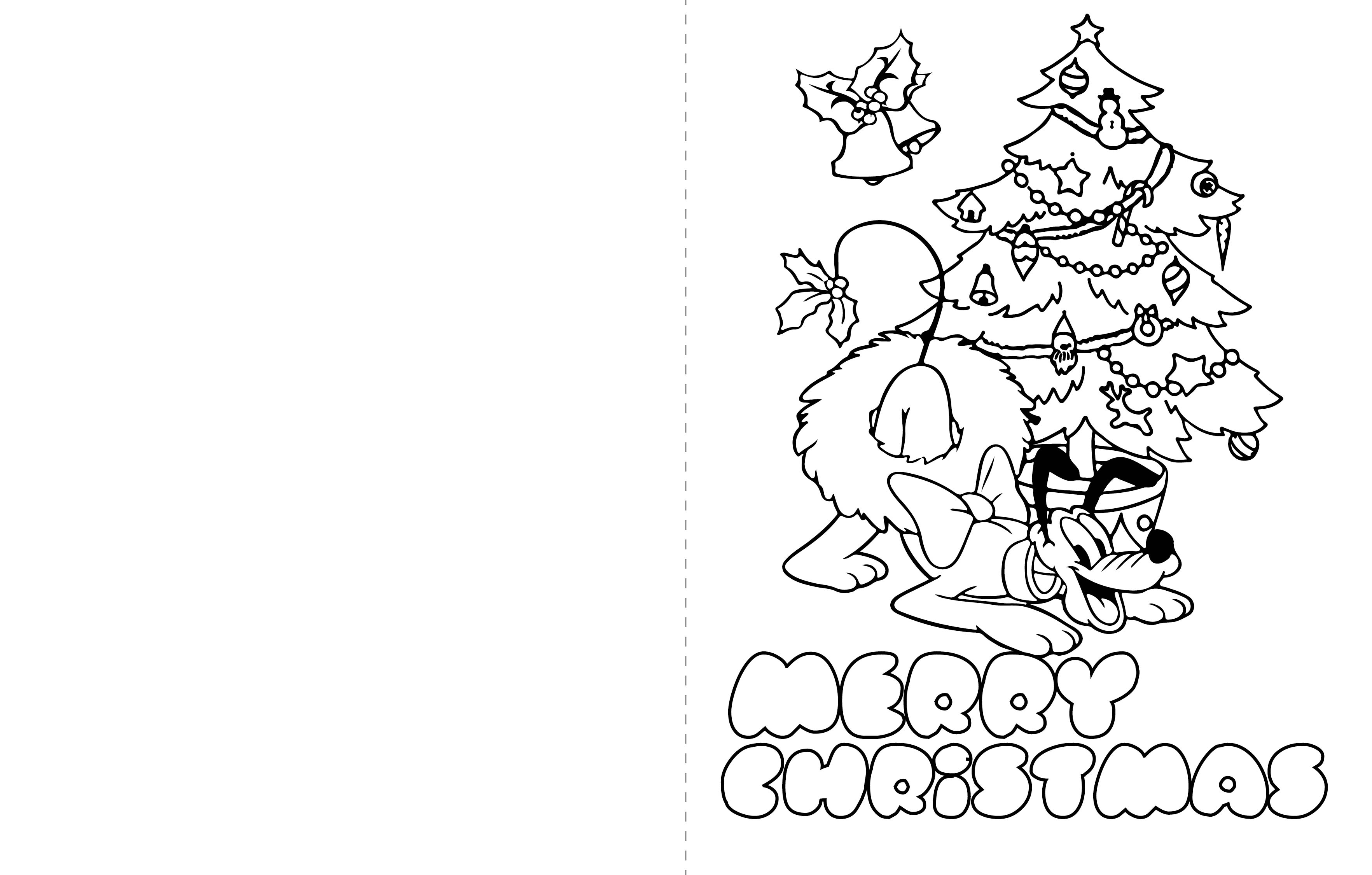 Kids Christmas Cards Printables
