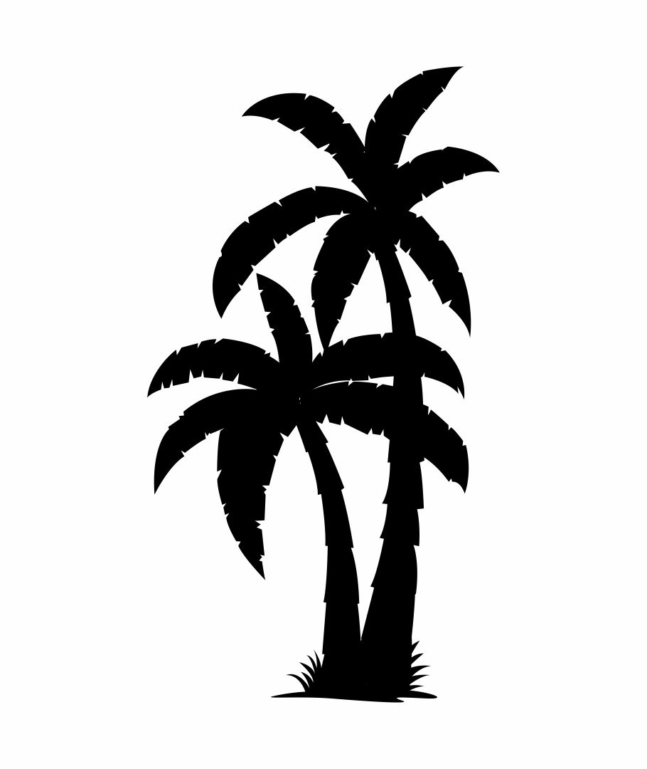 5 Best Palm Tree Stencil Printable - printablee.com
