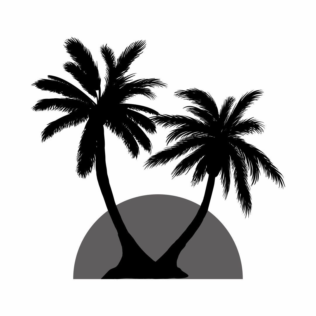 Palm Tree Stencils Free