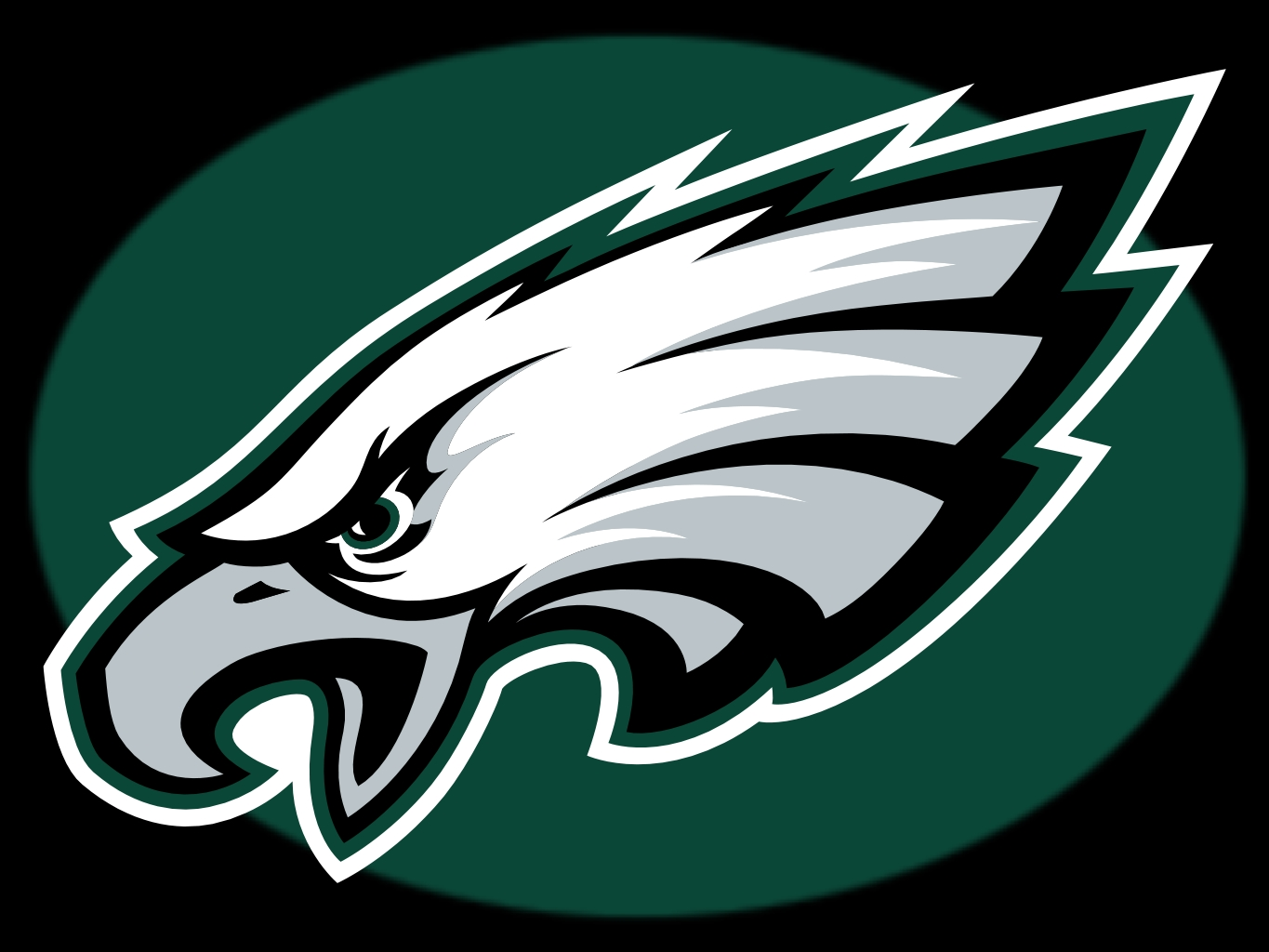 5 Images of Free Printable NFL Logos Eagles