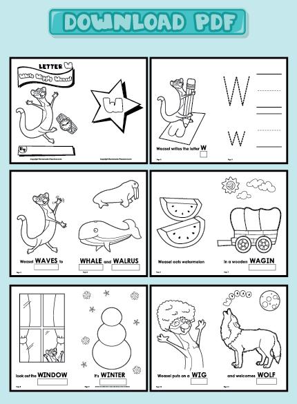 Preschool Alphabet Books Printables