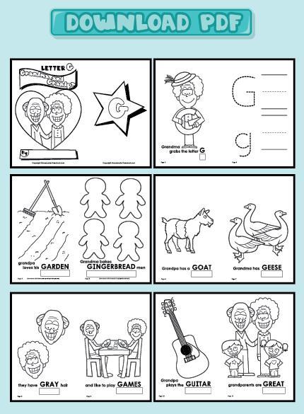 Preschool Letter Books Printable