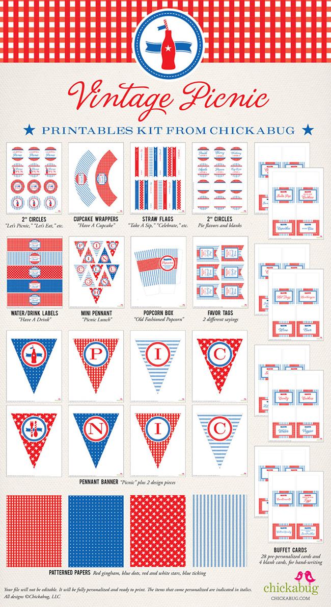 7 Images of Vintage Patriotic Free Printables