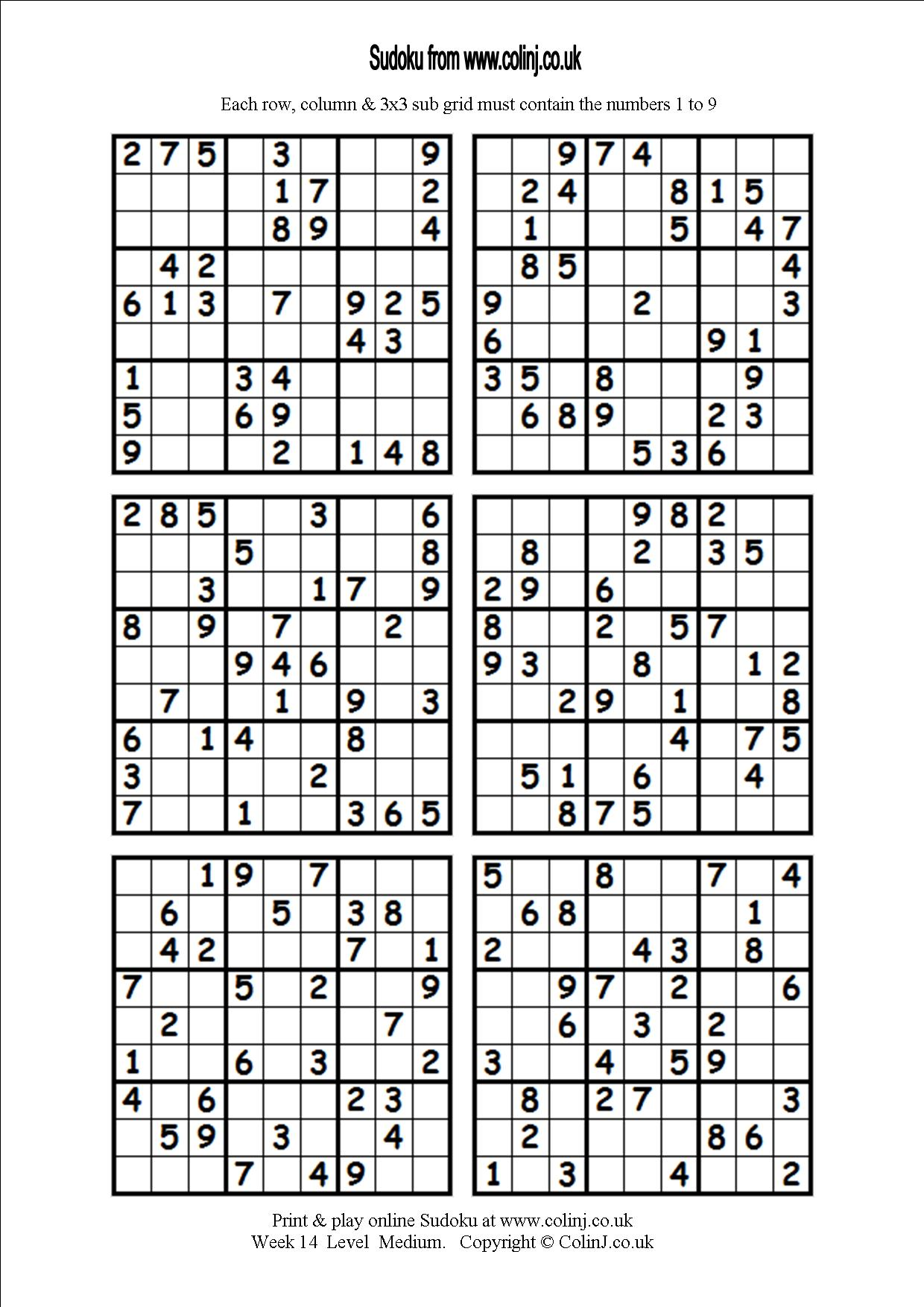 Unusual image within printable sudoku puzzles 4 per page
