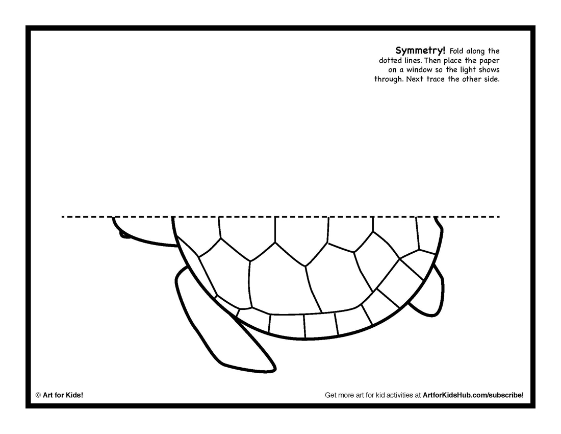 6 Images of Symmetry Complete The Drawing Printables