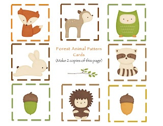 6 Images of Free Woodland Printables
