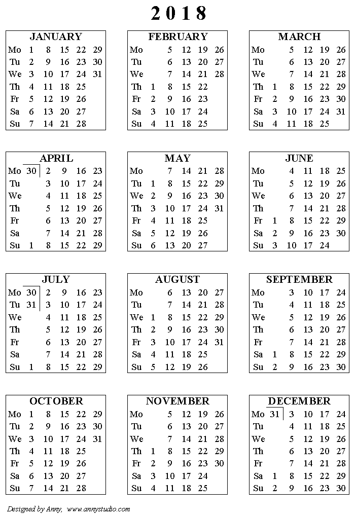 free printable academic calendar for 2017 2018 school year