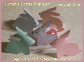 6 Images of 3D Easter Printables