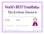 7 Images of Free Printable Grandma Awards