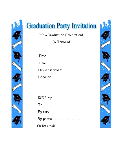7 Images of Free Printable Graduation Invitation Clip Art