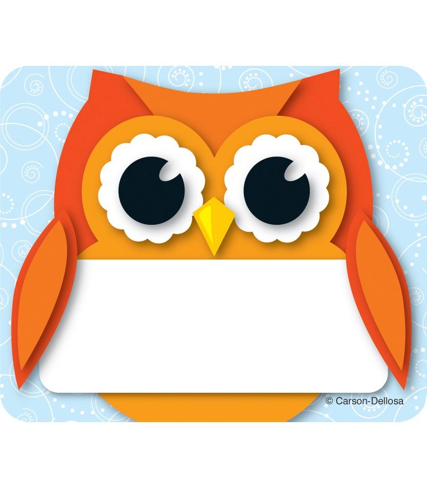 Free Printable Name Tag - Cute Owl Name Tags, Free Printable Owl Name ...