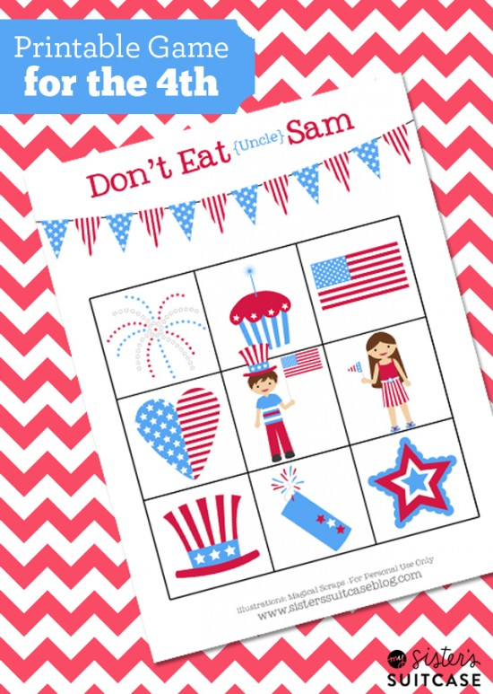 6 Images of 4th Of July Games Free Printable